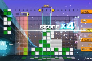 Lumines Remastered Screenshot