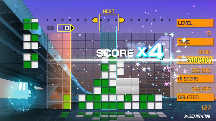 Lumines Remastered Review - Screenshot 5 of 8