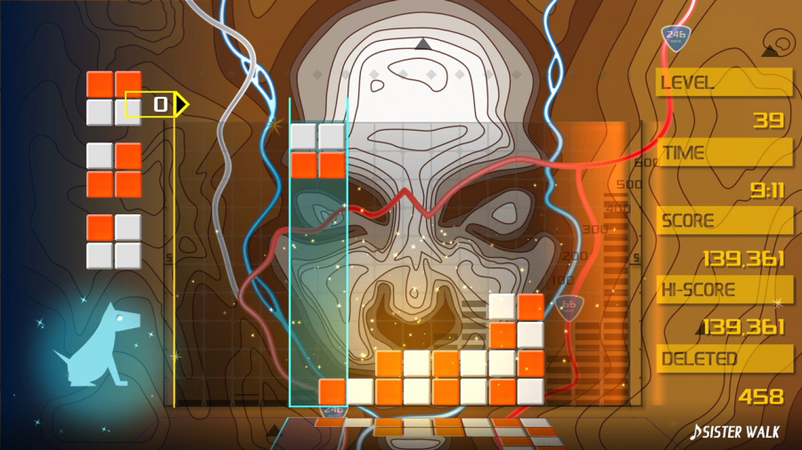 Lumines Remastered Review - Screenshot 2 of 8
