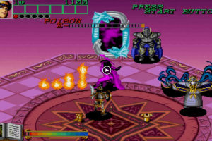 Johnny Turbo's Arcade: Wizard Fire Screenshot