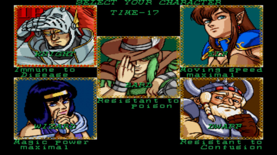 Johnny Turbo's Arcade: Wizard Fire Review - Screenshot 1 of 2