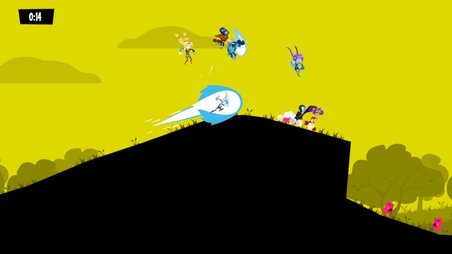 Runbow Review - Screenshot 1 of 4