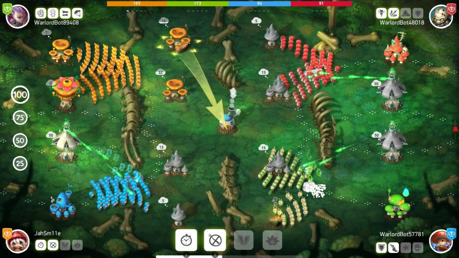 Mushroom Wars 2 Review - Screenshot 1 of 4