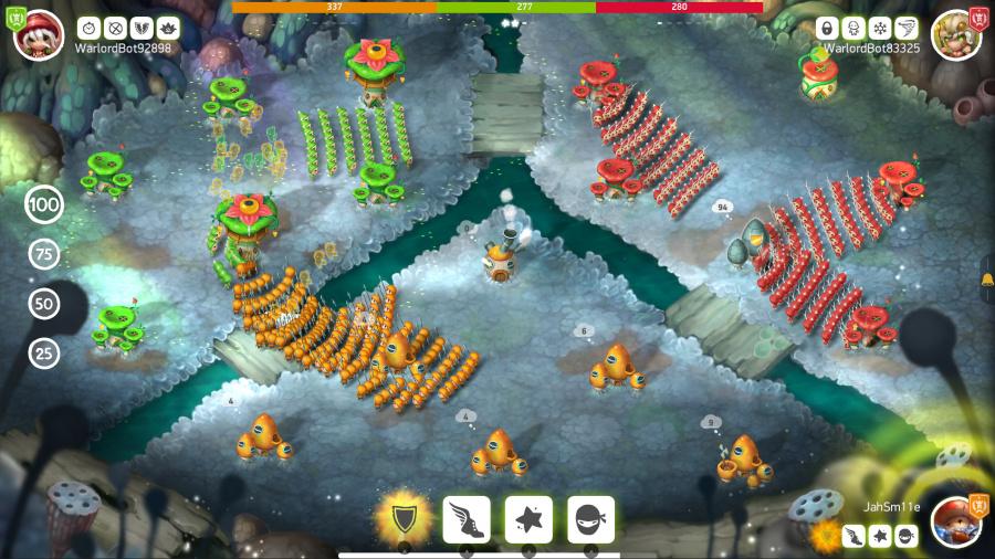 Mushroom Wars 2 Review - Screenshot 1 of 4