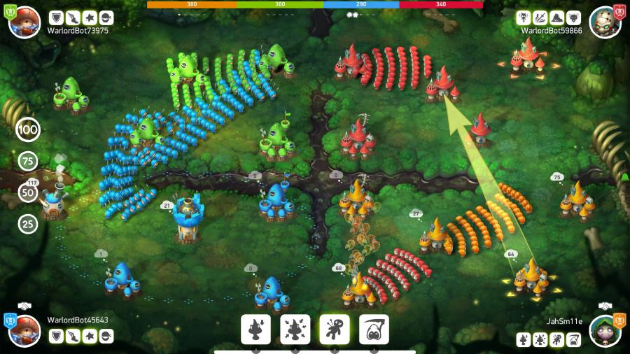 Mushroom Wars 2 Review - Screenshot 2 of 4