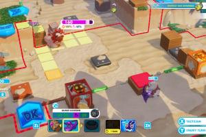 Mario + Rabbids Kingdom Battle: Donkey Kong Adventure Screenshot