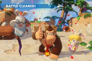 Mario + Rabbids Kingdom Battle: Donkey Kong Adventure Screenshot