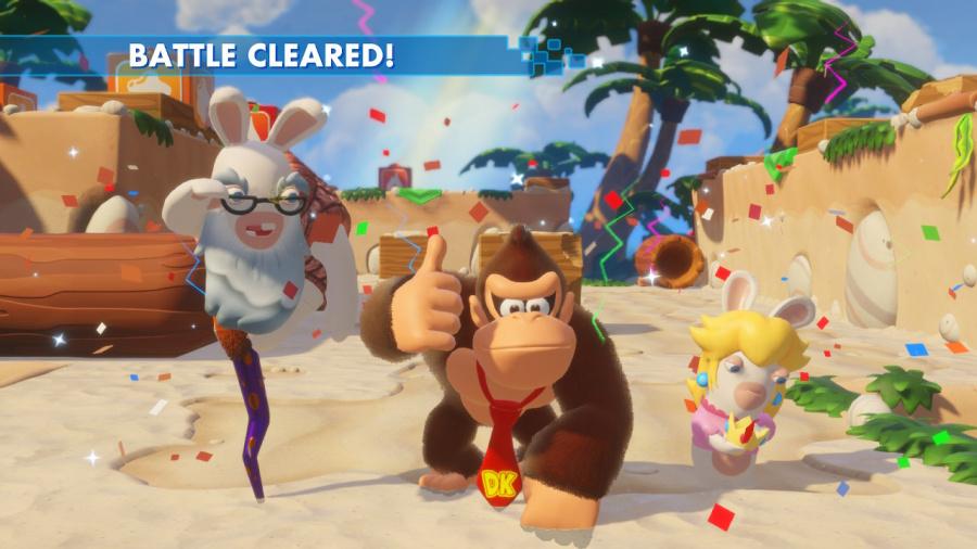 Mario + Rabbids Kingdom Battle: Donkey Kong Adventure Review - Screenshot 4 of 5