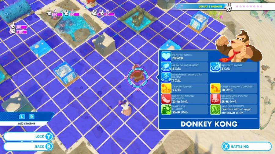Mario + Rabbids Kingdom Battle: Donkey Kong Adventure Review - Screenshot 3 of 5