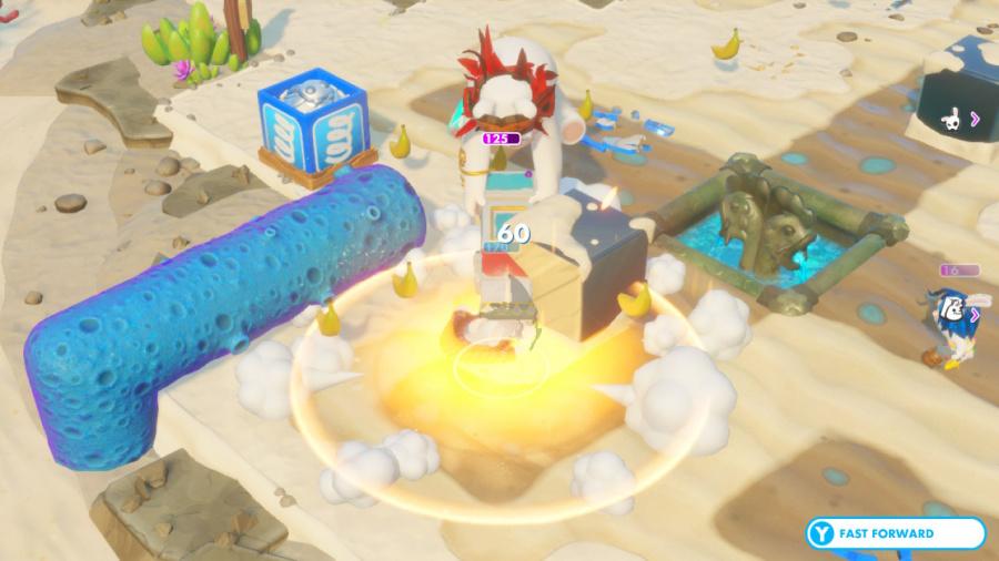 Mario + Rabbids Kingdom Battle: Donkey Kong Adventure Review - Screenshot 2 of 5