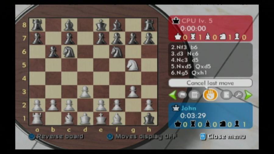 Wii Chess Screenshot