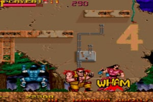 Johnny Turbo's Arcade: Two Crude Dudes Screenshot