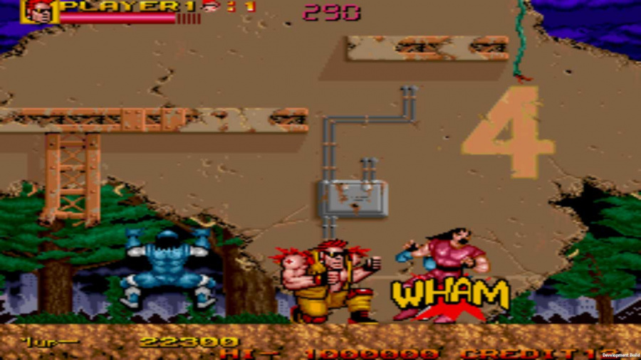Johnny Turbo's Arcade: Two Crude Dudes Review - Screenshot 1 of 2