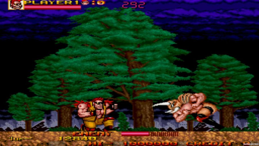 Johnny Turbo's Arcade: Two Crude Dudes Review - Screenshot 1 of 3