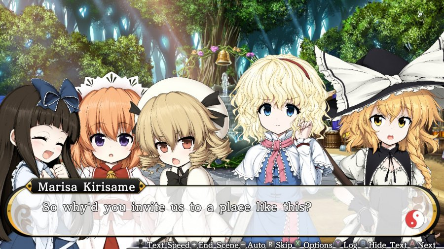 Touhou Genso Wanderer Reloaded Review - Screenshot 2 of 4