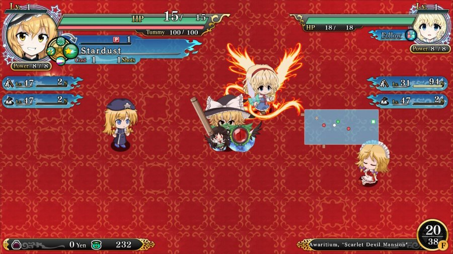 Touhou Genso Wanderer Reloaded Review - Screenshot 4 of 4
