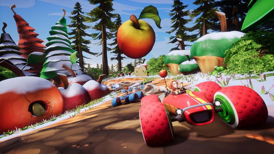 All-Star Fruit Racing Review - Screenshot 1 of 4