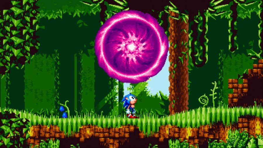 Sonic Mania Plus Review - Screenshot 2 of 7