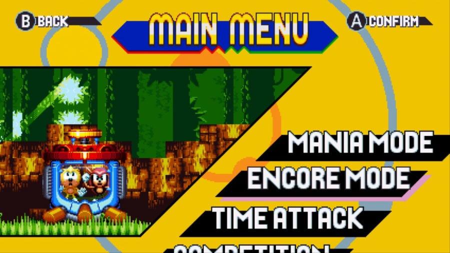 Sonic Mania Plus Review - Screenshot 3 of 7