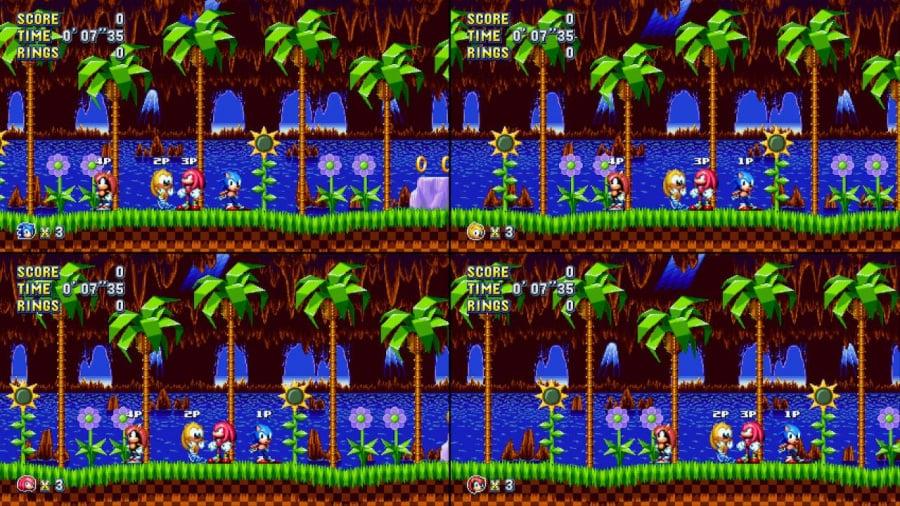Sonic Mania Plus Review - Screenshot 1 of 6