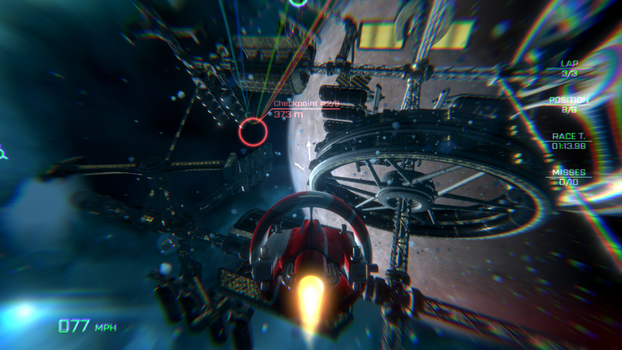 VSR: Void Space Racing Review - Screenshot 2 of 4