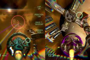VSR: Void Space Racing Screenshot