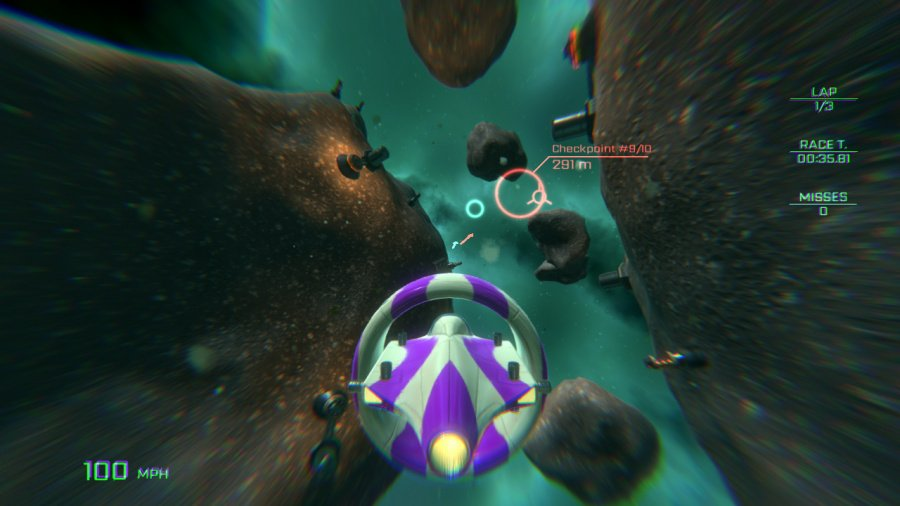 VSR: Void Space Racing Review - Screenshot 3 of 4