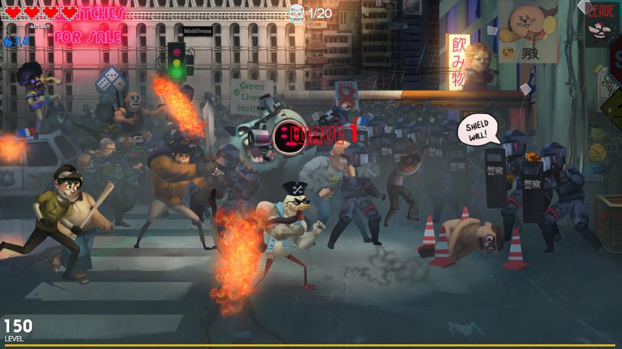 Chicken Assassin: Reloaded Review - Screenshot 1 of 2
