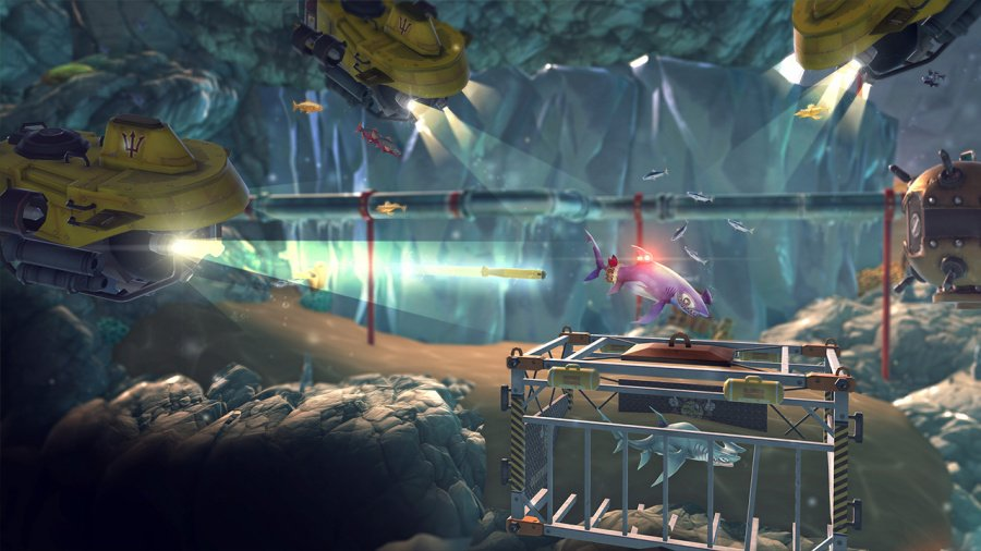 Hungry Shark World Review - Screenshot 1 of 4