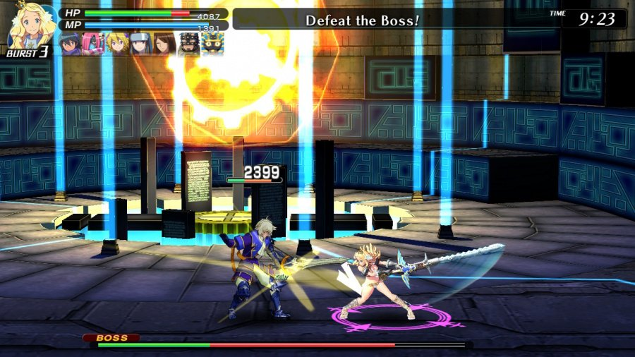 Code Of Princess EX Review - Screenshot 1 of 4