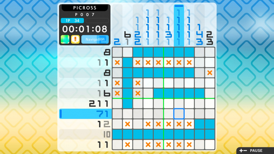 Picross S2 Review - Screenshot 1 of 5