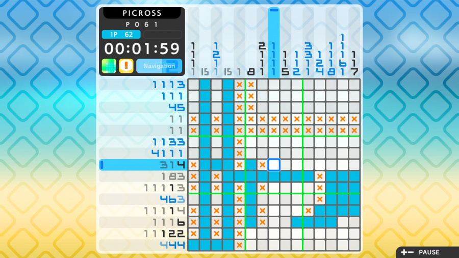 Picross S2 Review - Screenshot 2 of 5
