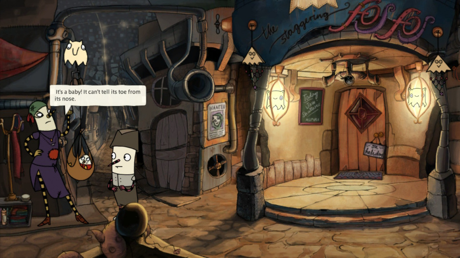 The Inner World Review - Screenshot 1 of 3