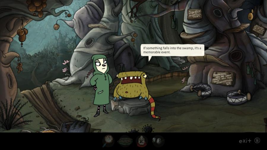The Inner World Review - Screenshot 1 of 5