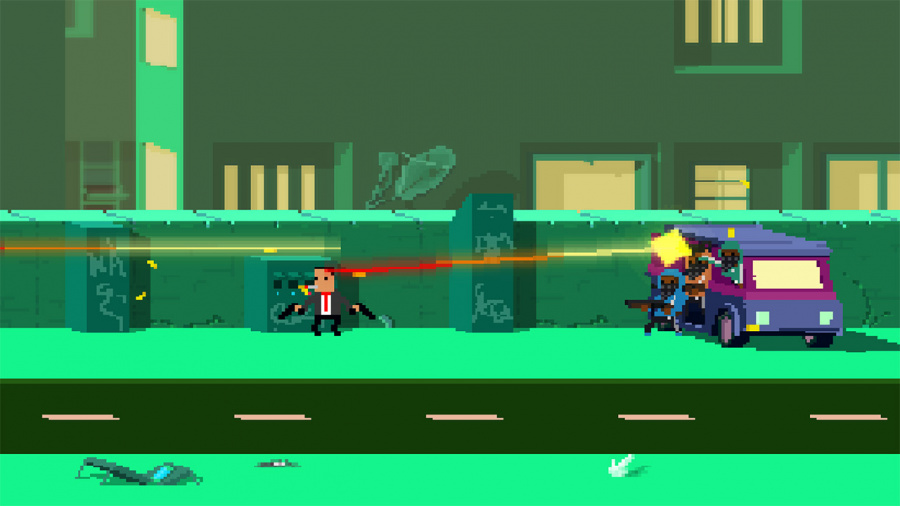 Not A Hero: Super Snazzy Edition Review - Screenshot 1 of 4