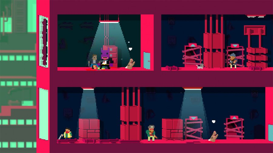 Not A Hero: Super Snazzy Edition Review - Screenshot 2 of 4