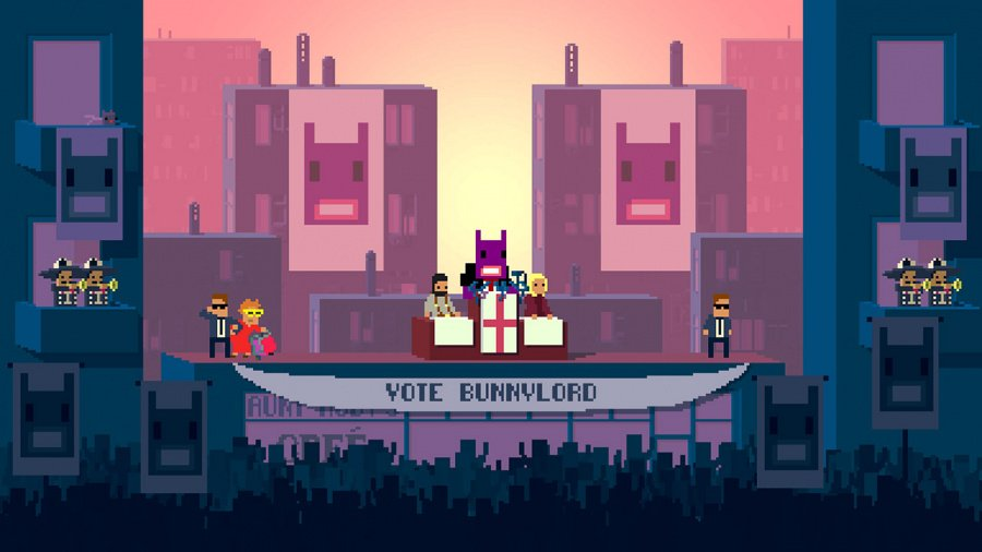 Not A Hero: Super Snazzy Edition Review - Screenshot 2 of 3