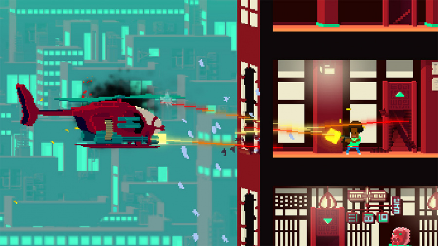 Not A Hero: Super Snazzy Edition Review - Screenshot 3 of 4