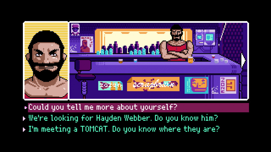 2064: Read Only Memories INTEGRAL Review - Screenshot 3 of 5