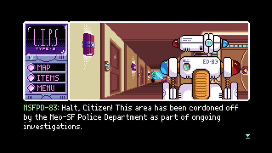 2064: Read Only Memories INTEGRAL Review - Screenshot 2 of 5