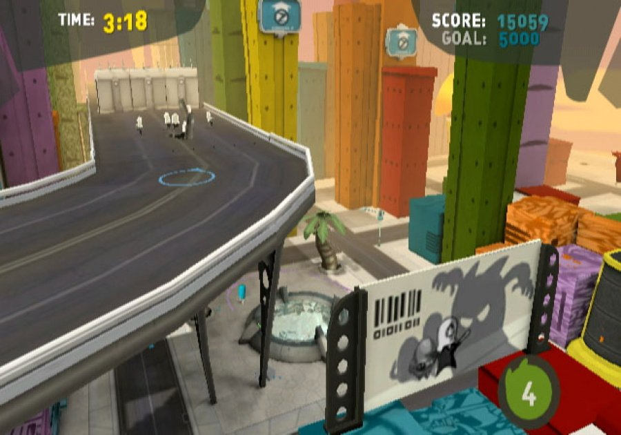 de Blob Review - Screenshot 2 of 6