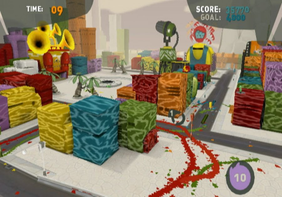 de Blob Review - Screenshot 6 of 6
