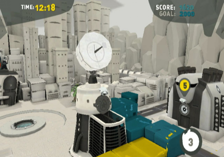 de Blob Review - Screenshot 5 of 6