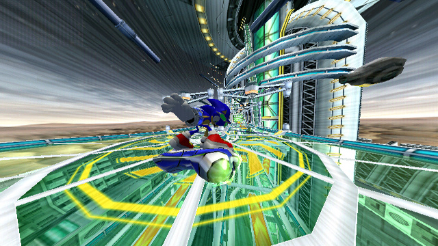 Sonic Riders: Zero Gravity Screenshot