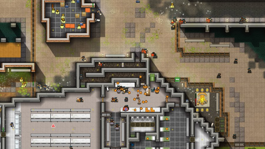 Prison Architect: Nintendo Switch Edition Review - Screenshot 2 of 4