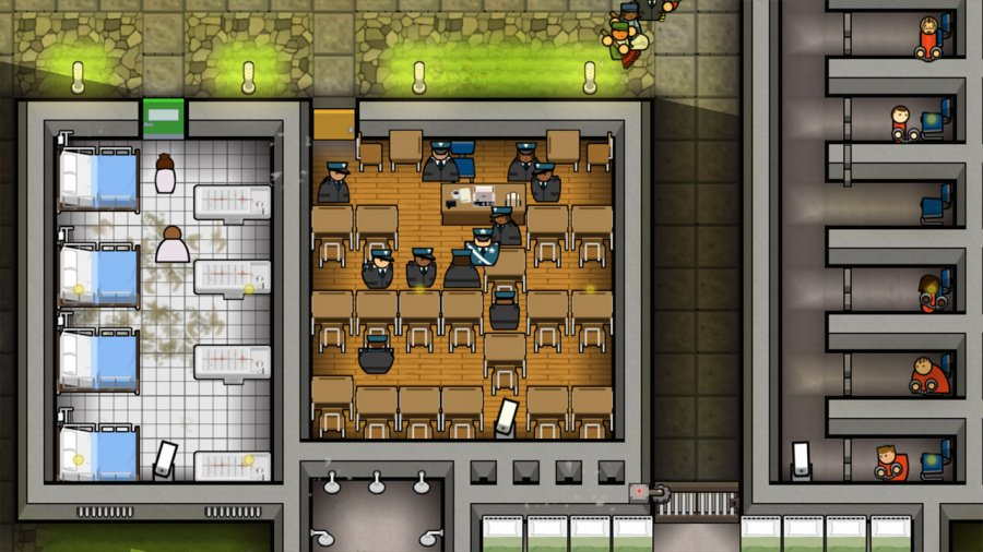 Prison Architect: Nintendo Switch Edition Review - Screenshot 1 of 4