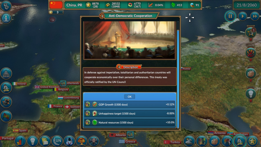 Realpolitiks Review - Screenshot 2 of 4