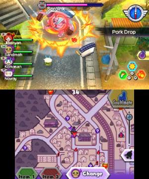 Yo-Kai Watch Blasters: Red Cat Corps & White Dog Squad Review - Screenshot 5 of 6