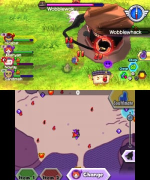 Yo-Kai Watch Blasters: Red Cat Corps & White Dog Squad Review - Screenshot 2 of 6