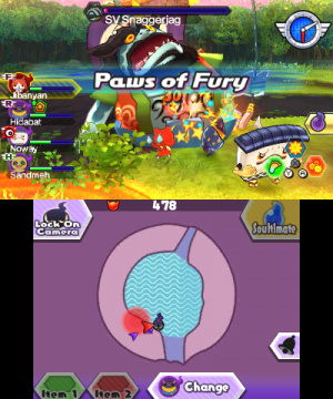 Yo-Kai Watch Blasters: Red Cat Corps & White Dog Squad Review - Screenshot 3 of 6